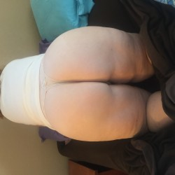 My wife's ass - Big Red