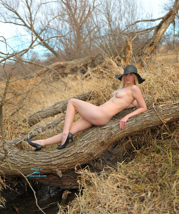 Naked Blonde In The Woods - Blonde Hair, Firm Tits, Heels, Nipples, Nude In Nature, Nude In Public, Nude Outdoors, Showing Tits, Small Tits, Naked Girl, Sexy Body, Sexy Figure, Sexy Girl, Sexy Legs , Blonde Girl, Naked, Woods, Outdoor, Small Tits, Sexy Legs, Heels, Hat