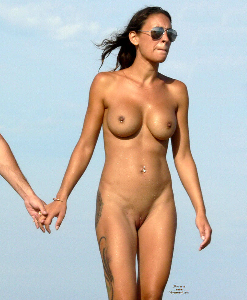 picture of girl with hard nipples on beach