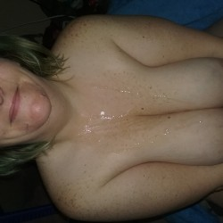 Very large tits of my wife - amys tits