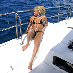 Isla de Saona Vol 2 - Blonde, Outdoors, Bikini Voyeur