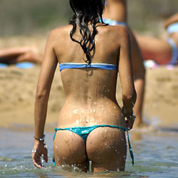 Playa Vol 1 - Brunette, Outdoors, Bikini Voyeur, Beach Voyeur