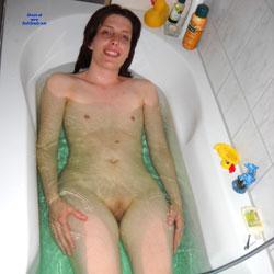 In The Bathtub - Nude Girls, Brunette, Shaved, Amateur