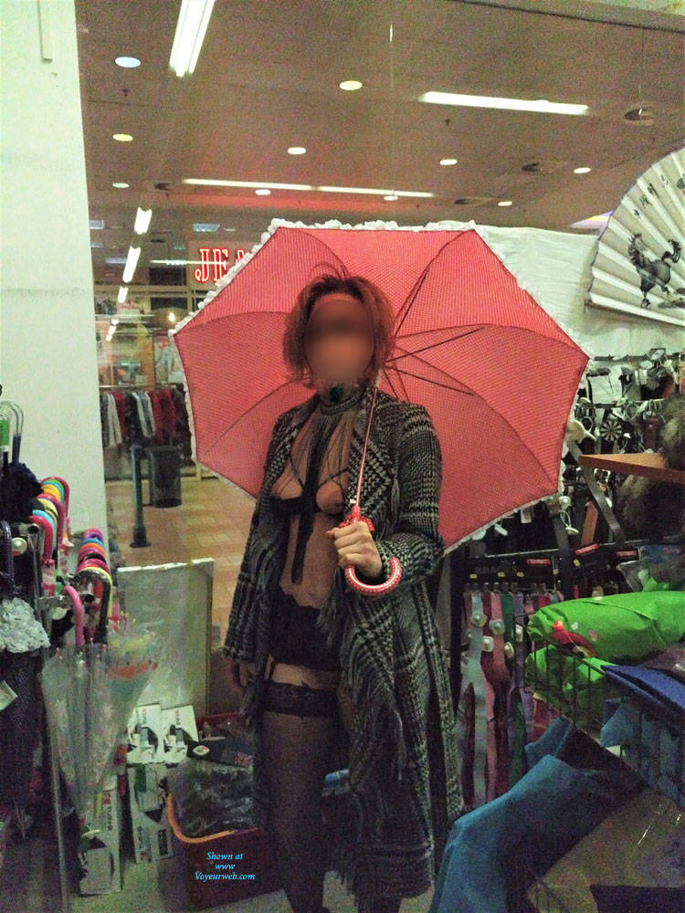 Pic #8 In The Shop - Public Exhibitionist, Flashing, Lingerie, Public Place, Shaved, Gf