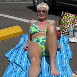 Swimwear Anywhere - Beach, Blonde, Outdoors