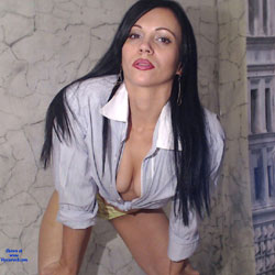 Tina85 - Brunette, Dressed