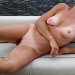 Medium tits of my wife - Tina MILF
