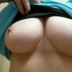 Medium tits of my wife - Mrs. Redman