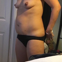 Small tits of a co-worker - 1mikeys saggy slut