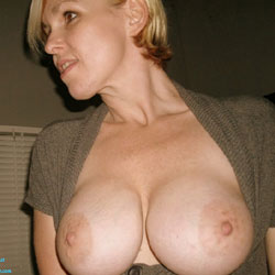 Stopped At The Porn Shop  - Big Tits, Blonde, Amateur