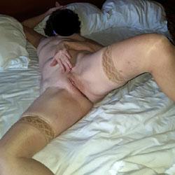 Hotel Room Posing - Lingerie, Shaved, Amateur