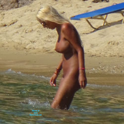 My First Only FKK Contri  - Nude Girls, Big Tits, Outdoors, Beach Voyeur