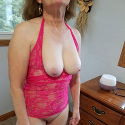 Pretty In Pink - Big Tits, See Through