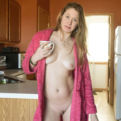 Morning Coffee - Big Tits, Bush Or Hairy, Amateur