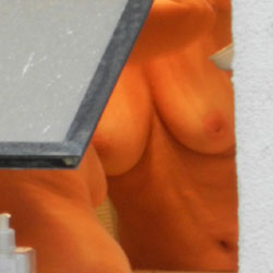 Neighbour On The Mirror - Big Tits, Voyeur