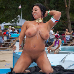 Wet And Wild Nudity - Brunette Hair, Exposed In Public, Full Nude, Hanging Tits, Huge Tits, Nude In Public, Nude Outdoors, Perfect Tits, Shaved Pussy, Showing Tits, Hairless Pussy, Hot Girl, Sexy Body, Sexy Boobs, Sexy Figure, Sexy Girl, Sexy Legs