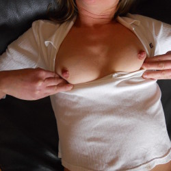 Small tits of my wife - kelly