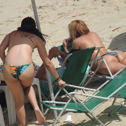 Saturday In Boa Viagem Beach, Recife City - Outdoors, Bikini Voyeur, Beach Voyeur