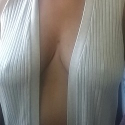 Large tits of my wife - Sweetness