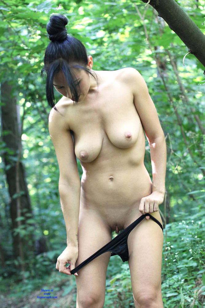 Pic #3 Sexy Alexa - Nude Wives, Big Tits, Brunette, Outdoors, Shaved, Firm Ass