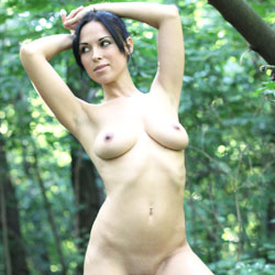Sexy Alexa - Nude Wives, Big Tits, Brunette, Outdoors, Shaved, Firm Ass