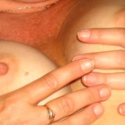 Small tits of my wife - Awesome Granny