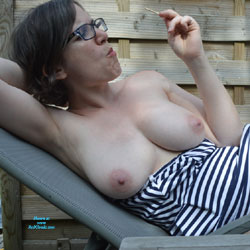 Ice Cream - Big Tits, Outdoors, Bush Or Hairy, Amateur, Tattoos