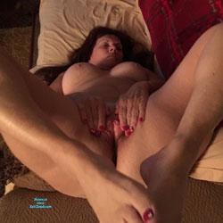Hot At 65 - Nude Amateurs, Big Tits, Brunette, Shaved, Mature