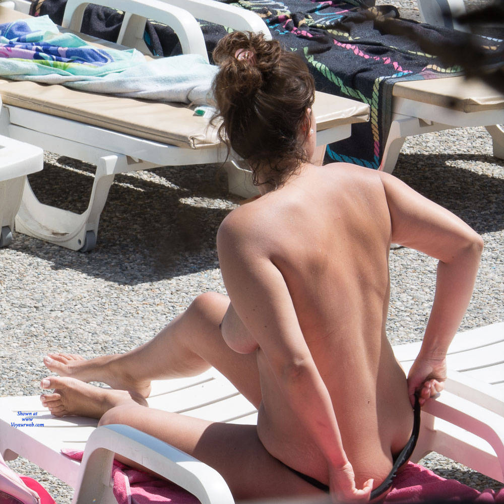 Pic #1 Tenerife Part Deux - Topless Girls, Big Tits, Outdoors, Beach Voyeur