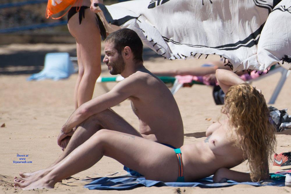 Pic #4 Tenerife Part Deux - Topless Girls, Big Tits, Outdoors, Beach Voyeur