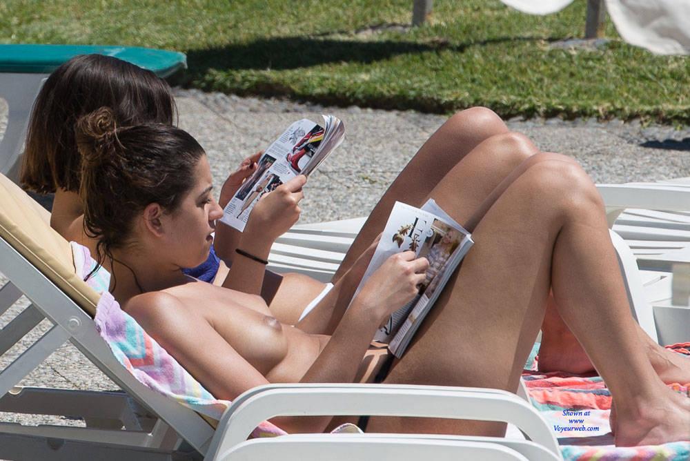 Pic #5 Tenerife Part Deux - Topless Girls, Big Tits, Outdoors, Beach Voyeur