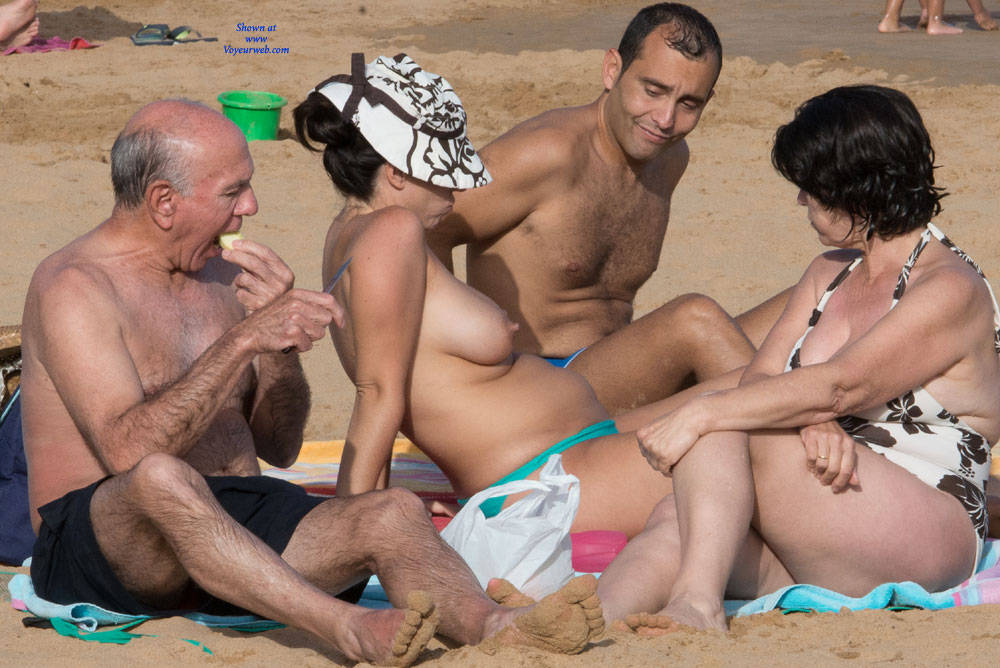 Pic #6 Tenerife Part Deux - Topless Girls, Big Tits, Outdoors, Beach Voyeur
