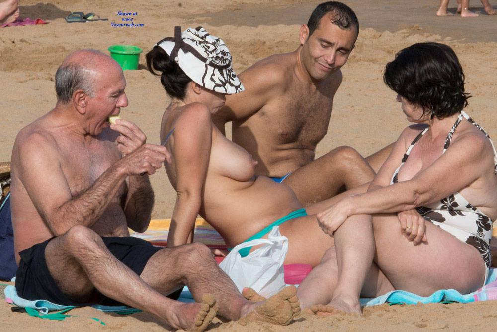Pic #6 Tenerife Part Deux - Topless Girls, Big Tits, Outdoors, Beach Voyeur
