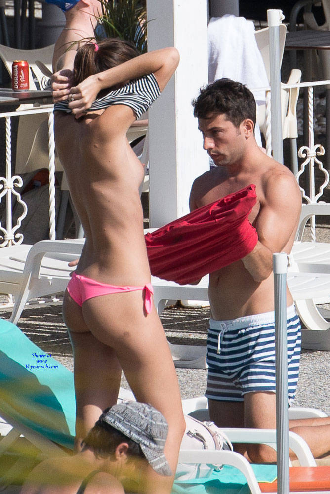 Pic #8 Tenerife Part Deux - Topless Girls, Big Tits, Outdoors, Beach Voyeur