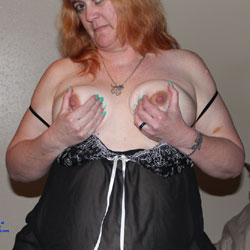 New Camera - Big Tits, Lingerie, Redhead, Close-Ups, Wife/Wives, BBW
