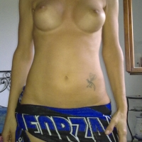 Large tits of a co-worker - Michi