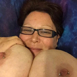 My Tinny Breast - Big Tits, Brunette, Amateur, Body Piercings