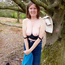 Outdoor At Last - Big Tits, Brunette, Outdoors, Amateur