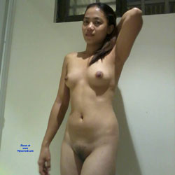 Friend From Argentina - Nude Girls, Brunette, Bush Or Hairy