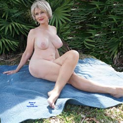 Naked In The Woods - Nude Girls, Big Tits, Blonde, Outdoors, Bush Or Hairy, Amateur