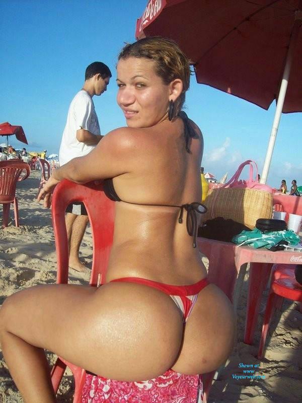 Pic #1 Wives From Recife City, Brazil - Outdoors, Bikini Voyeur, Beach Voyeur