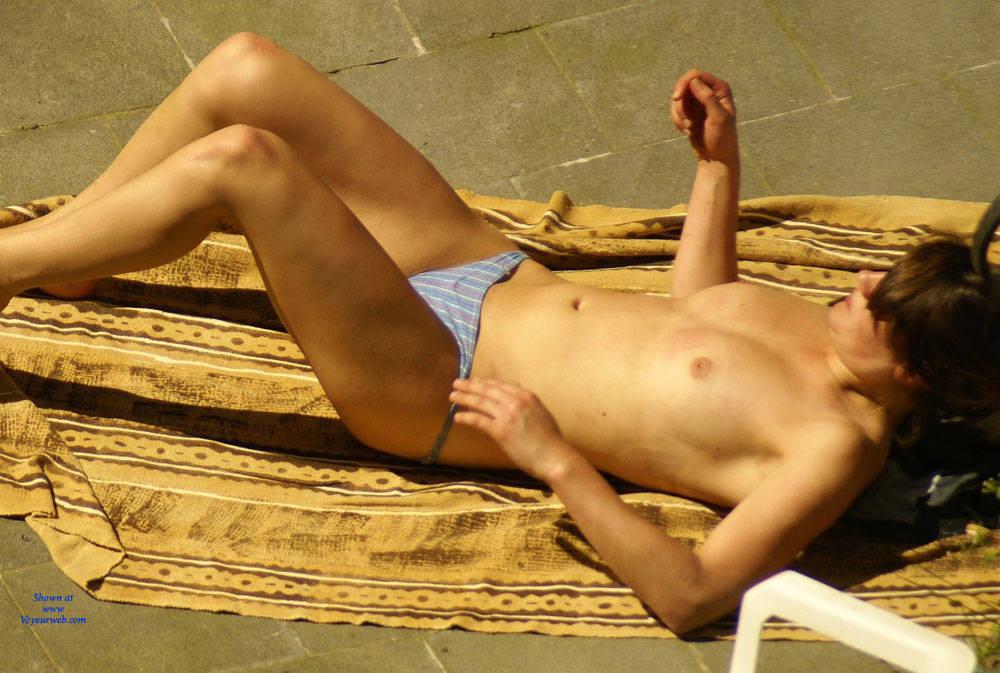 Naked female neighbor