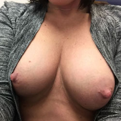 Locked Office Door - Big Tits, Shaved, Close-Ups, Amateur