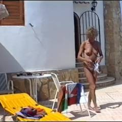 Spain - Nude Girls, Big Tits, Outdoors, Bush Or Hairy, Amateur