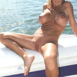 Boating at the Beach Part II - Big Tits, Outdoors, Shaved, Amateur