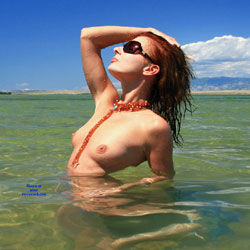 Croatia Memories - Nude Outdoors, Redhead, Beach Voyeur, Naked Girl