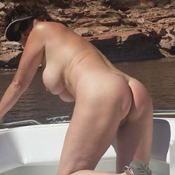 Showing Ass Outdoor - Brunette, Outdoors, Amateur