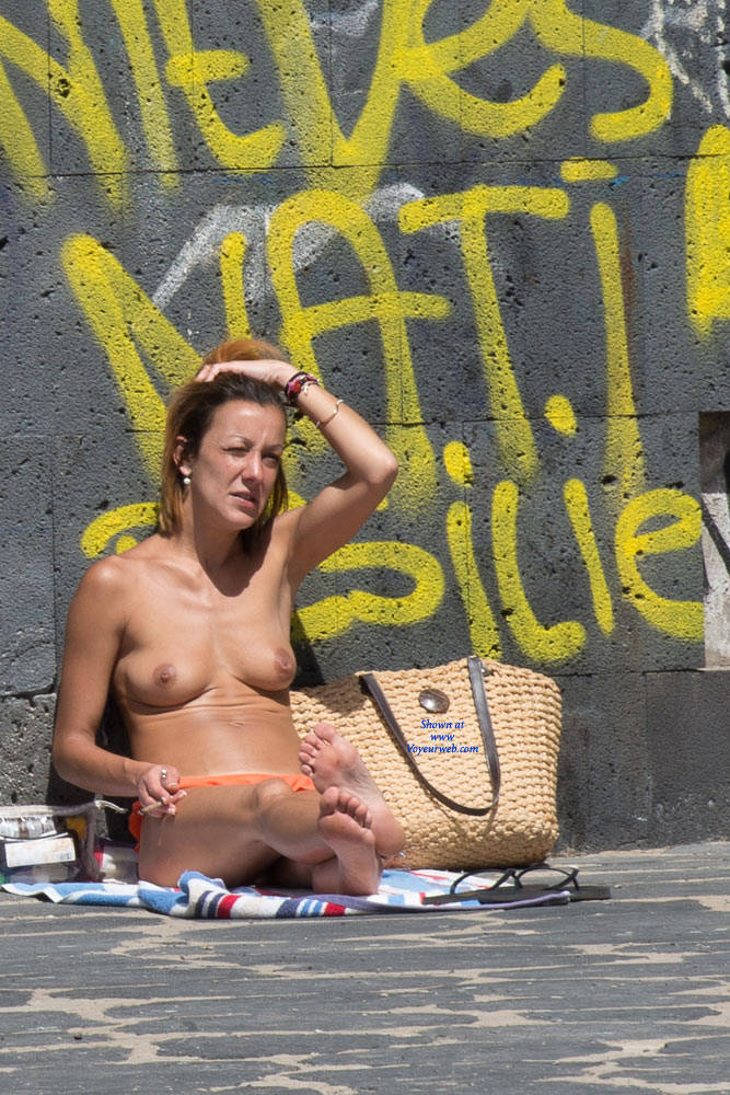 Sitting Naked By The Streets - Big Tits, Brunette Hair, Exposed In Public, Full Nude, Nude In Public, Nude Outdoors, Showing Tits, Topless Girl, Beach Voyeur, Naked Girl, Sexy Body, Sexy Boobs, Sexy Feet, Sexy Figure, Sexy Girl, Sexy Legs, Sexy Woman , Naked, Brunette, Nude In Public, Big Tits, Sexy Legs