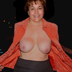 Amateur MILF Enjoys Herself And Others - Big Tits, Brunette, Bush Or Hairy, Group