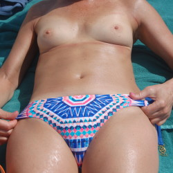 Small tits of my wife - My Sexy Wife's Small Tits